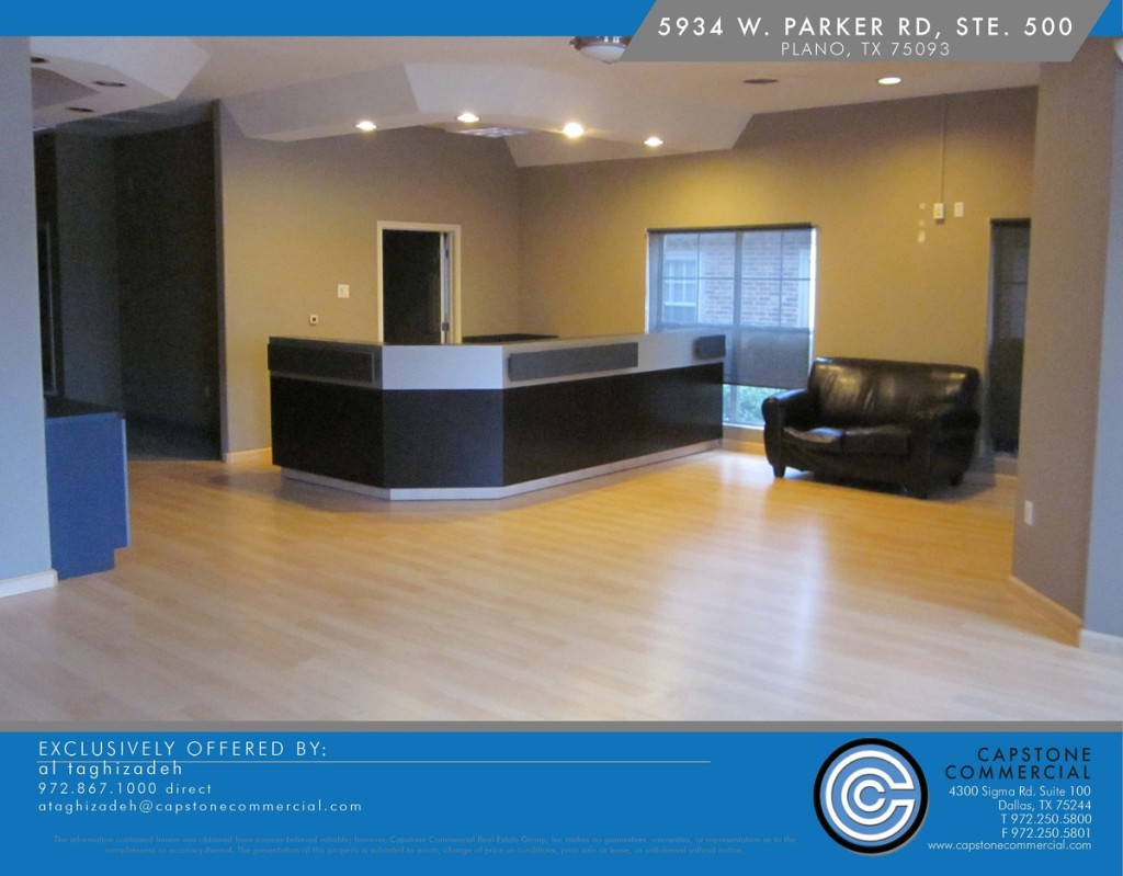 office for lease Plano TX